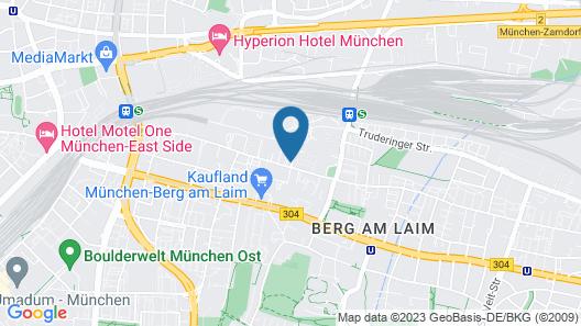 Holiday Inn Munich - City East, an IHG Hotel Map