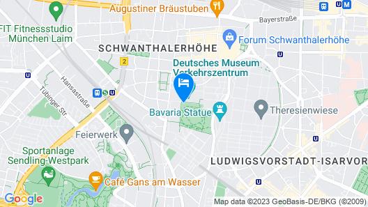 Jugend- und Familienhotel Augustin Map