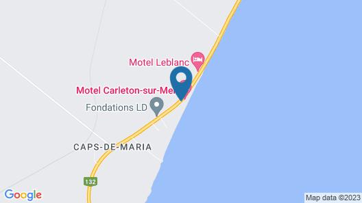 Motel Carleton sur mer Map