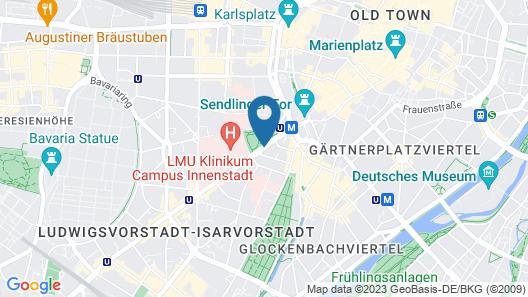 carathotel München City Map