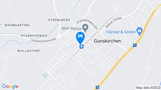 eee hotel Gunskirchen Map