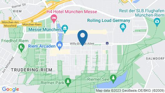 Myroom Service Apartments Map