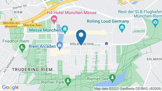 MyRoom - Top Munich Serviced Apartments Map