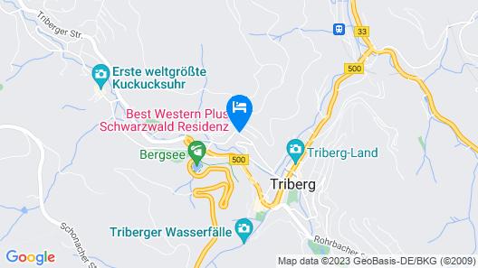 Best Western Plus Hotel Schwarzwald Residenz Map
