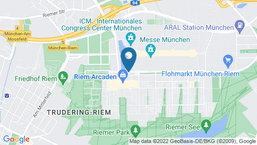 Novotel Muenchen Messe Map
