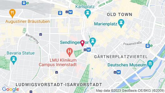 Hotel Exquisit Map