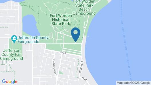 Fort Worden Map