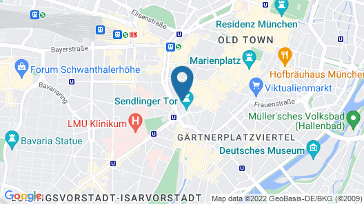 Motel One München - Sendlinger Tor Map