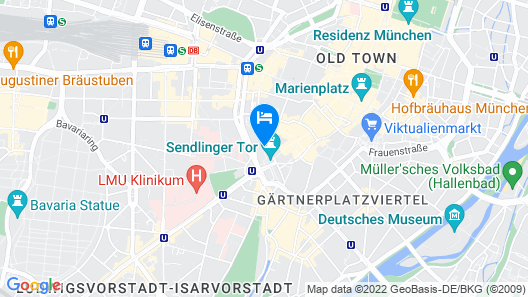 Motel One München - Sendlinger Tor Map