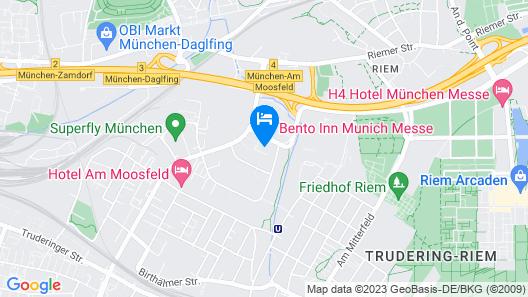 Bento Inn Munich Messe Map