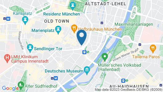 Hotel Torbräu Map