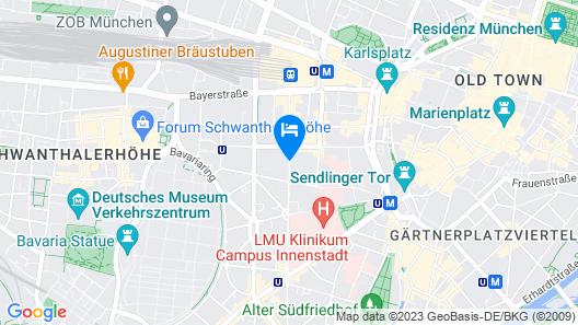 Hotel Andra Map