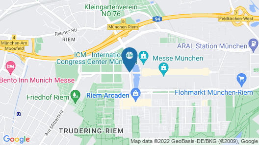 H2 Hotel München Messe Map