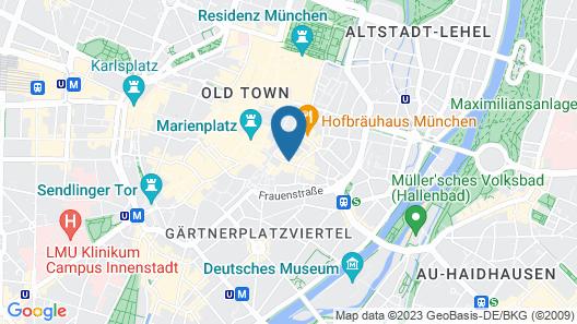 Hotel Schlicker Map