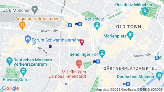 Hotel Demas City Map