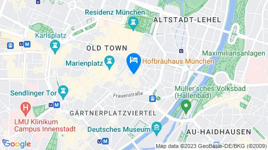 Cortiina Hotel Map