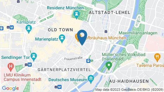 Mandarin Oriental, Munich Map