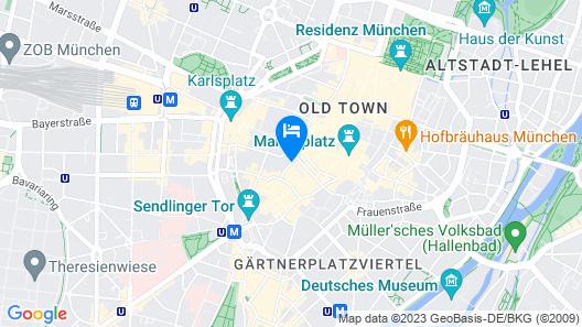 Mercure Hotel München Altstadt Map
