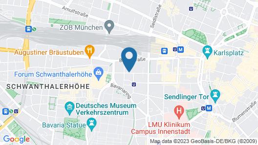 Munich Aparthotel Map
