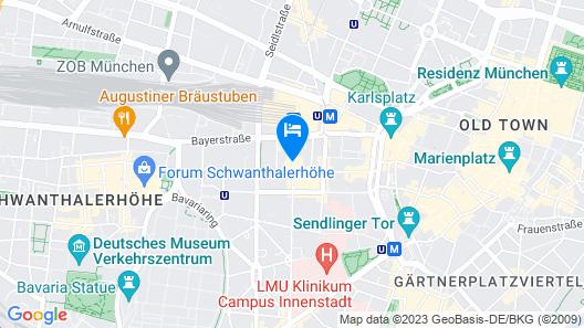 Hotel Dolomit Map