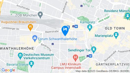 Cocoon Hauptbahnhof Map