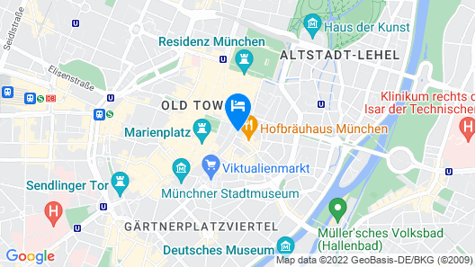 Platzl Hotel Map