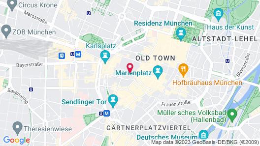 Munich vip Map