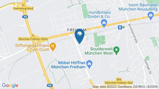 SQUAREVILLE München West Map