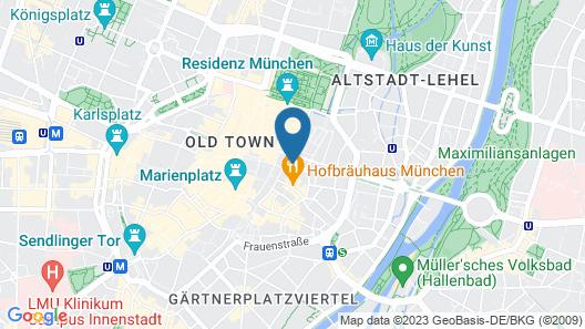 Boutique Hotel Falkenturm Map