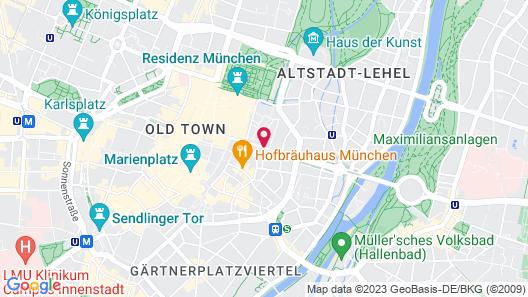 Hotel Vier Jahreszeiten Kempinski München Map