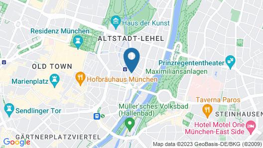 Hotel Splendid-Dollmann Map