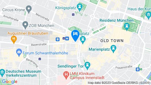 anna hotel Map