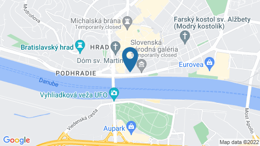 Devin Hotel Map