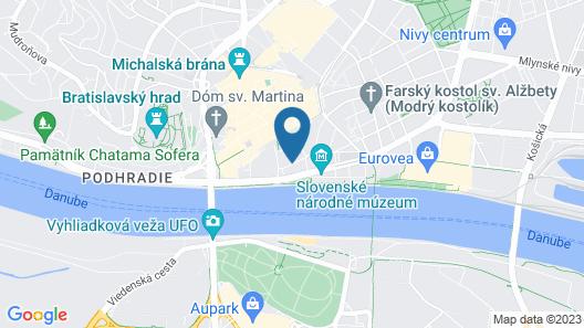 Hotel Avance Map