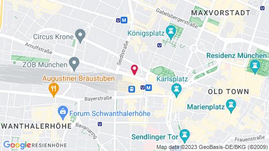 Eden Hotel Wolff Map