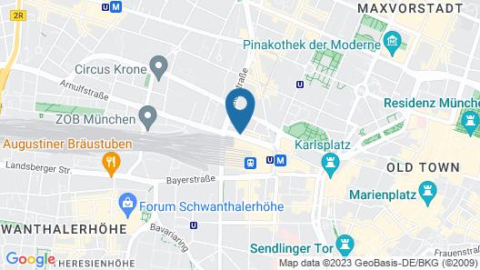 Hotel Amba Map