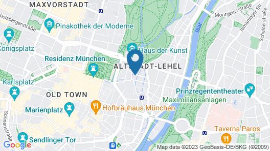 Unsölds Factory Hotel Map