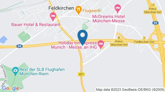 Holiday Inn Express München-Messe Map