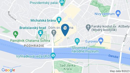 APLEND CITY Hviezdoslavovo námestie Map