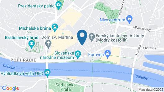 Roset Hotel & Residence Map