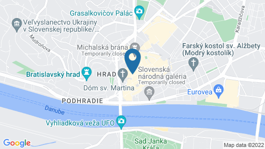 Aapartamentoos Map