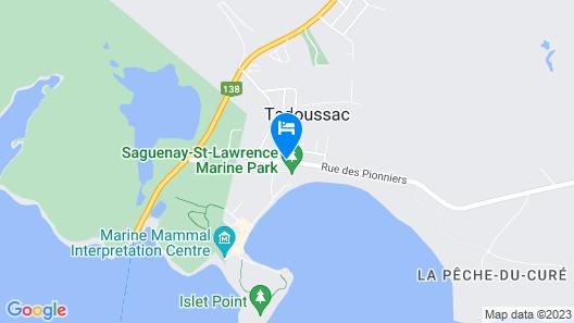 La Galouine Auberge & Restaurant Map