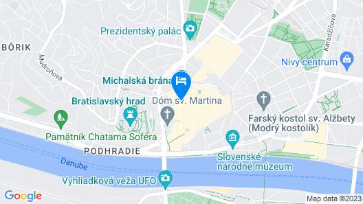Skaritz Hotel And Residence Map