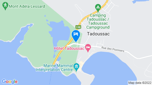 Hotel Motel Le Beluga Map