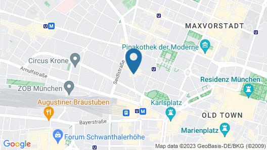 Augusten Hotel Map