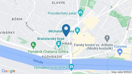 ibis Bratislava Centrum Map
