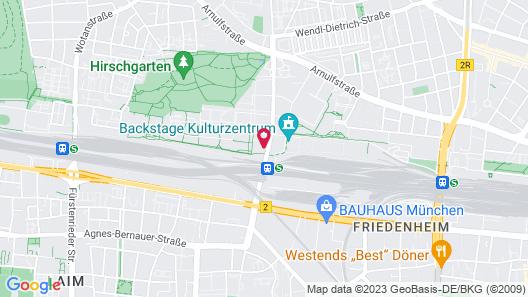 Holiday Inn Express Munich City West, an IHG Hotel Map