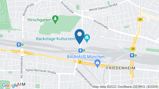 Holiday Inn Express Munich City West, an IHG Hotel Map