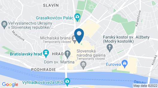 Arcadia Boutique Hotel Map