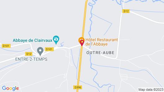 Hôtel Restaurant de l'Abbaye Map